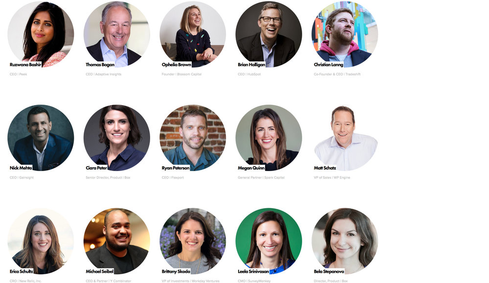 Hear from the Best in SaaS - 300+ Handcrafted Sessions to Help You Scale.No fluff. No commercials. No boring panels.