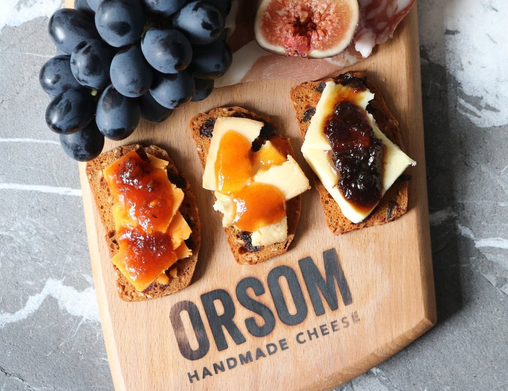 What makes us different? - Cheeses with taste and a touch of personality.Lots of flavour, a touch of personality, traditional skills - that's Orsom.Discover for yourself what makes them a cut above all those every-day, me-too, so-what alternatives.