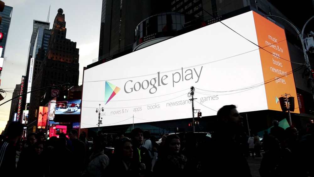 Google Play - Times Square