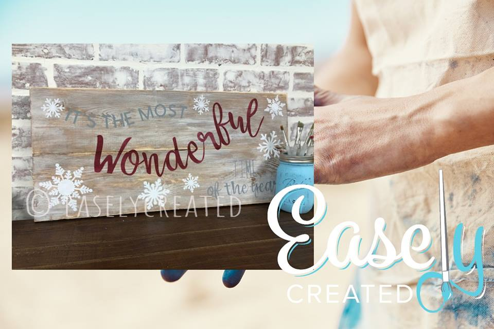 Its A Wonderful Life Wooden Pallet Sign 12x24 $48