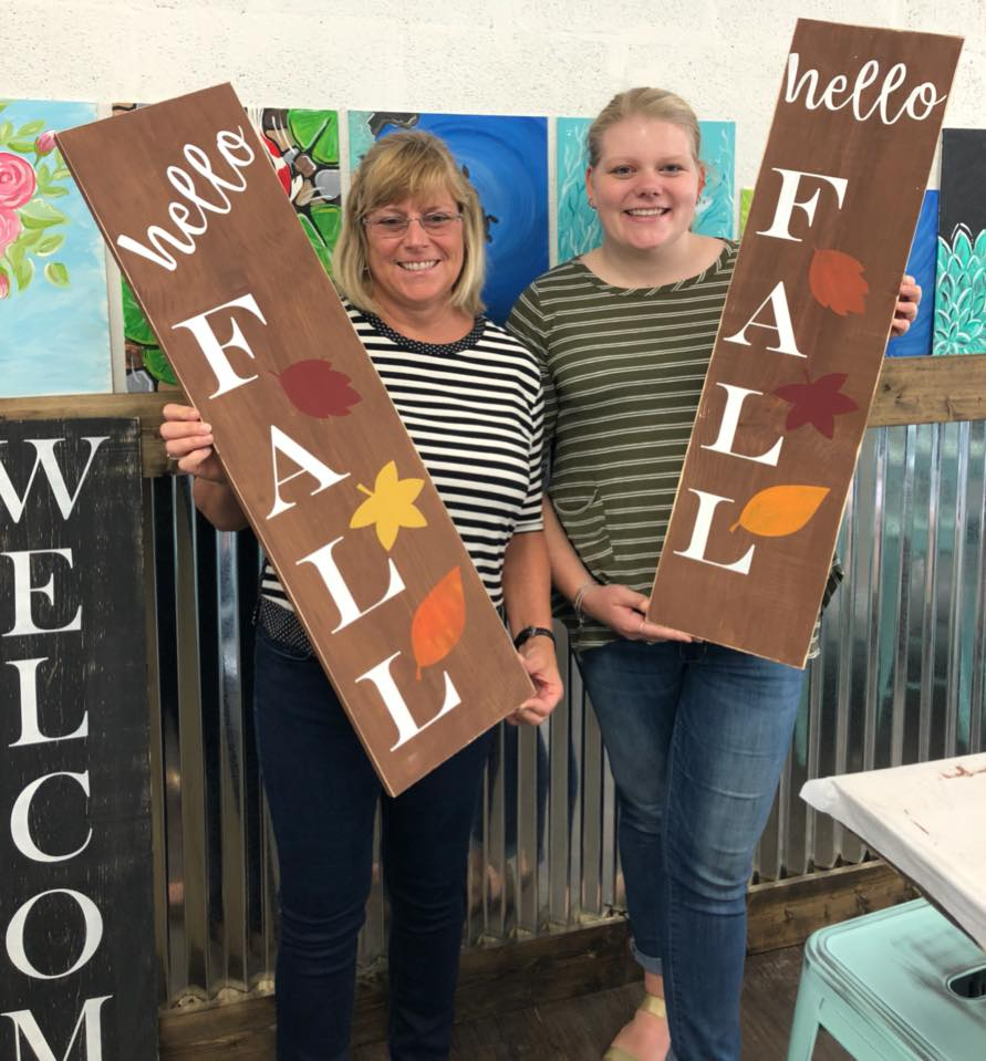 Hello Fall 3ft Sign $48