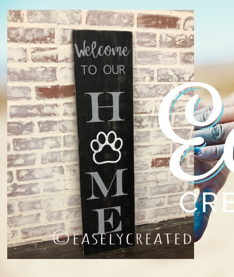 3ft Home w/paw $48