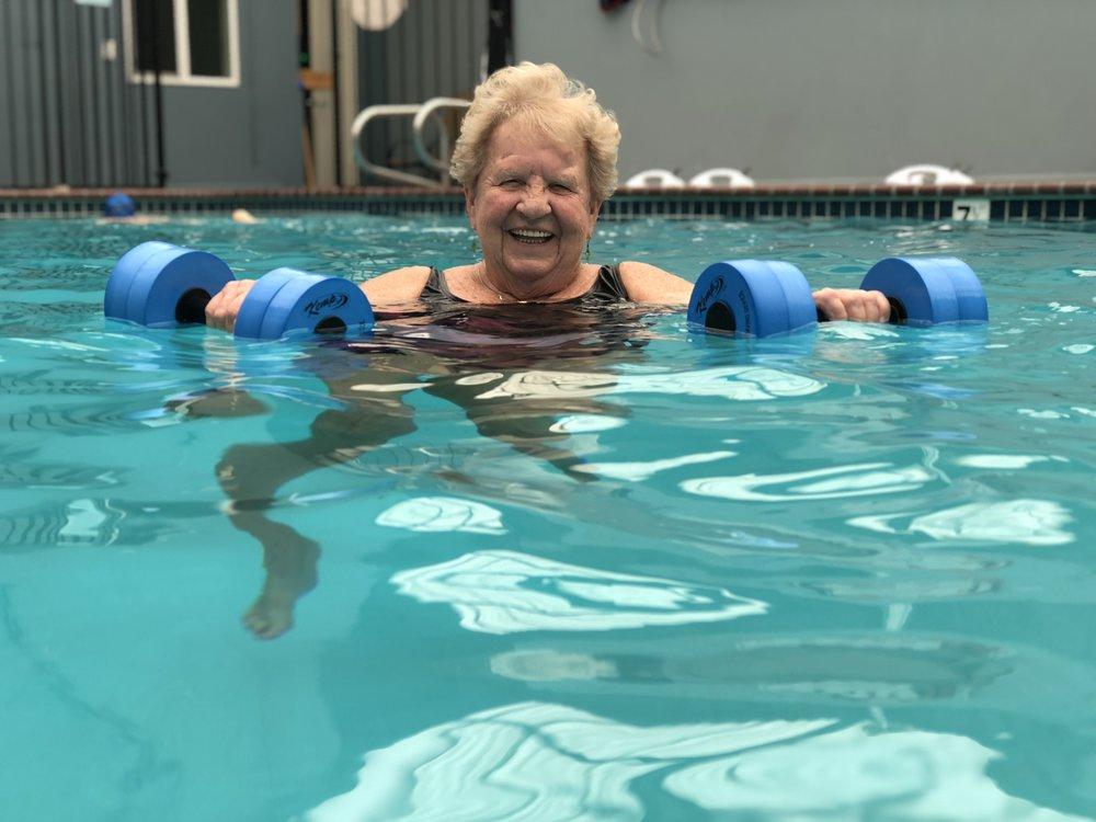 91 degree therapeutic pool    in Santa Barbara's Funk Zone