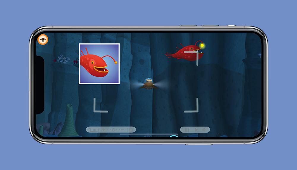 Octonauts App Angler Fish Photo Mission