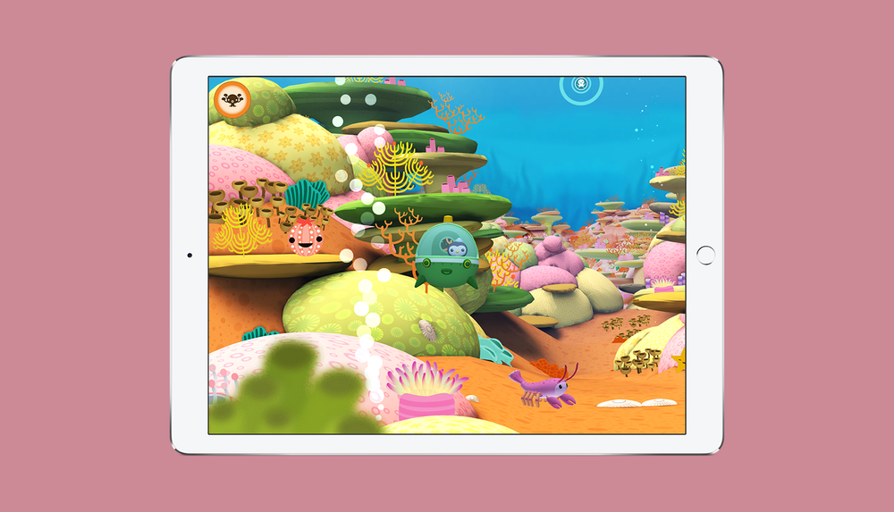 Octonauts App Explore the Sunlight Zone Screen