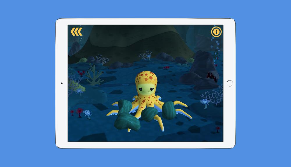 Octonauts App Explore the Midnight Zone Screen