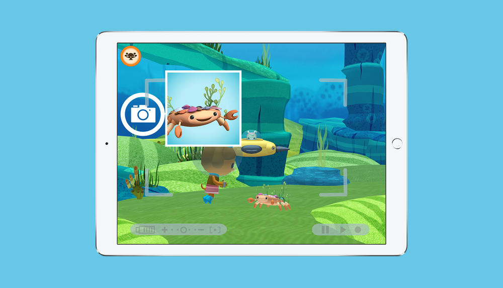 Octonauts App Photo Missions Screen