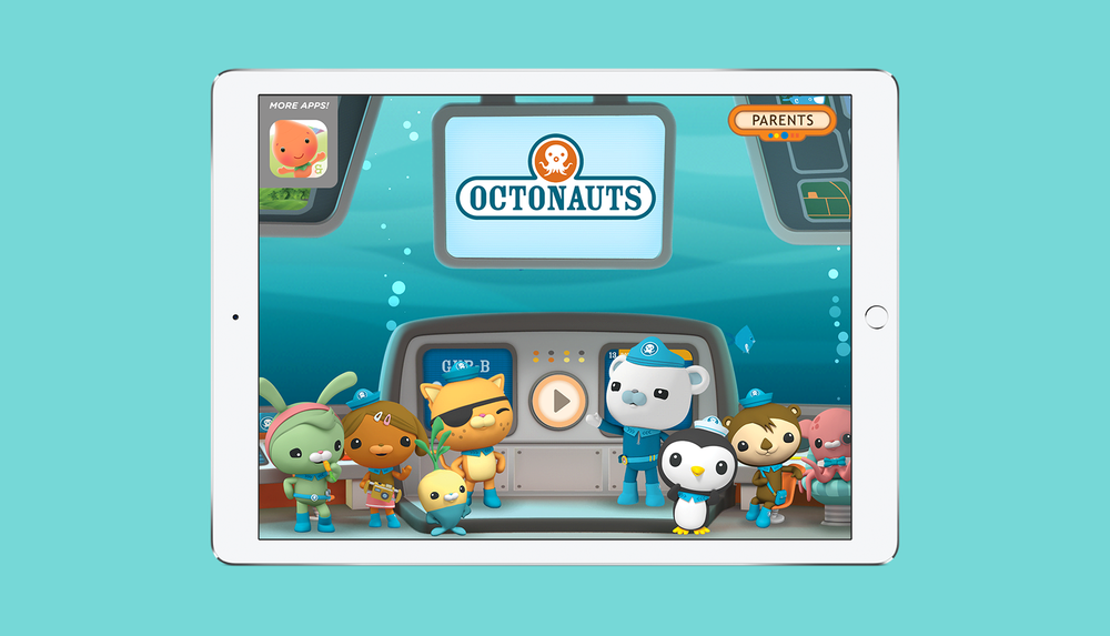 Octonauts App Homescreen
