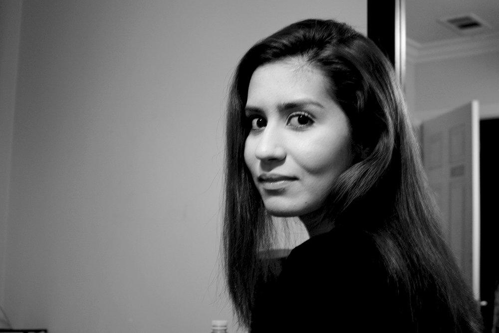 Portrait of Tanya Vargas by Arlene Mejorado, El Monte, CA, 2014.