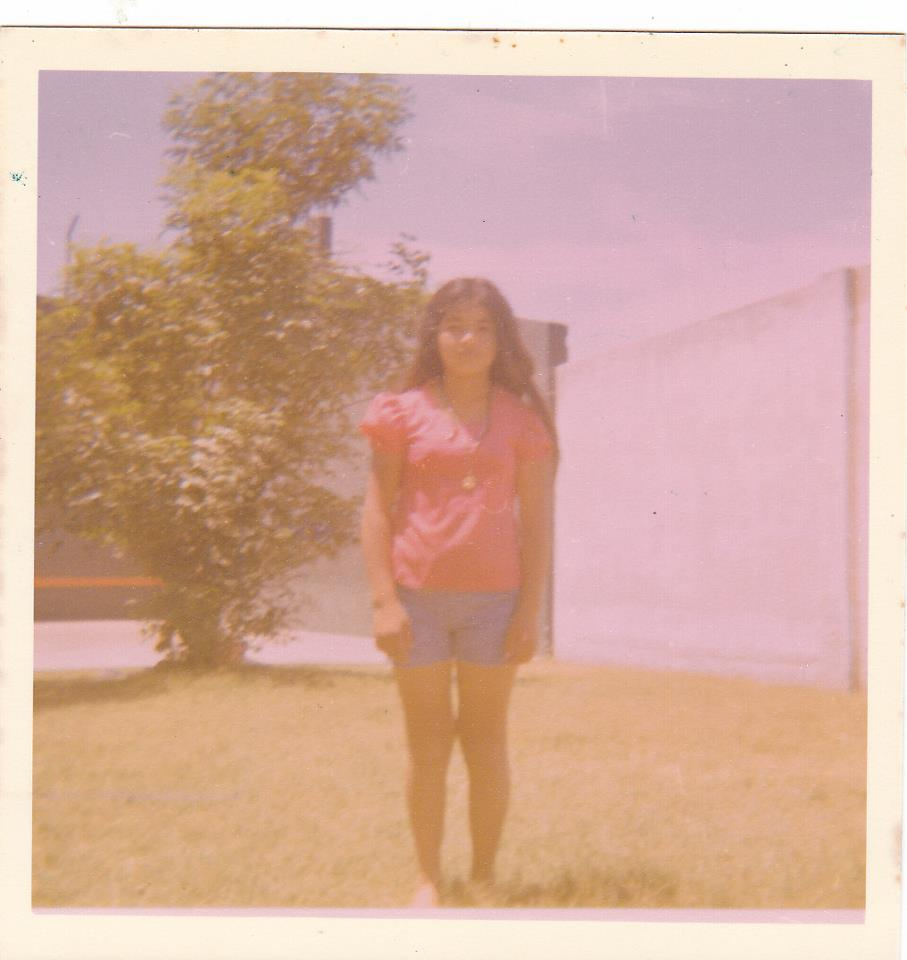 My mother in Guadalajara, Mexico.