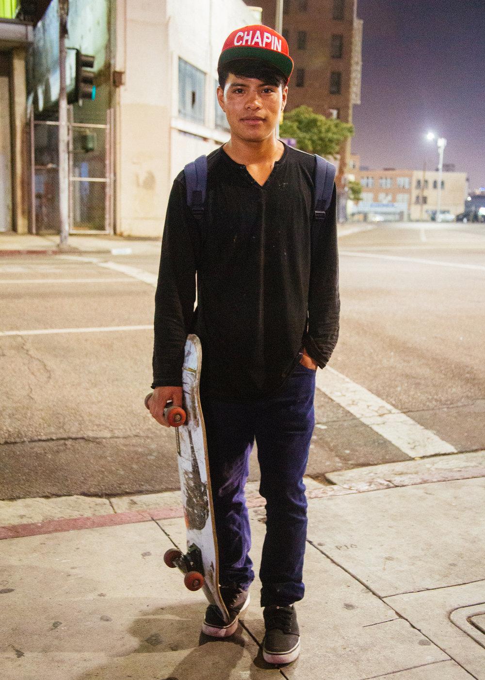 Chapin skater, Los Angeles, California 2016