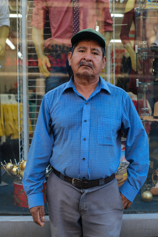 Street portrait, Los Angeles, California 2015
