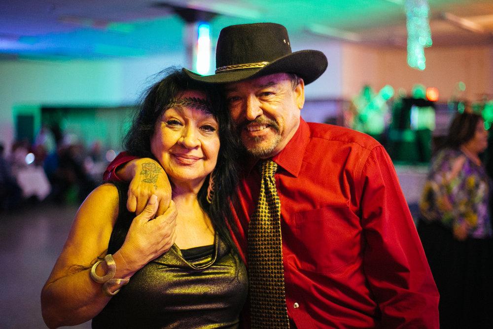 A couple on the dance floor, San Antonio, Texas 2016
