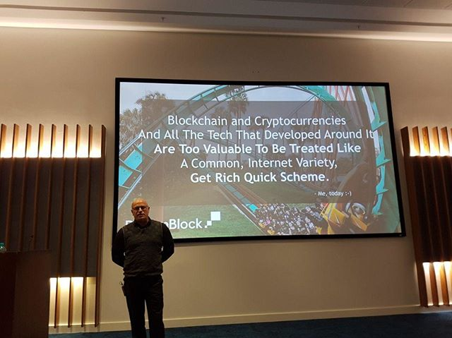 "Llew gave a presentation at Standard Bank in Rosebank, titled: ""Breaking The Shackles of Poverty - The Link Between Blockchain and Financial Inclusion"". We had a great audience at the event!  #blockchain #finance #inclusion #investment #realestate #realestateforeveryone #dreamblock"