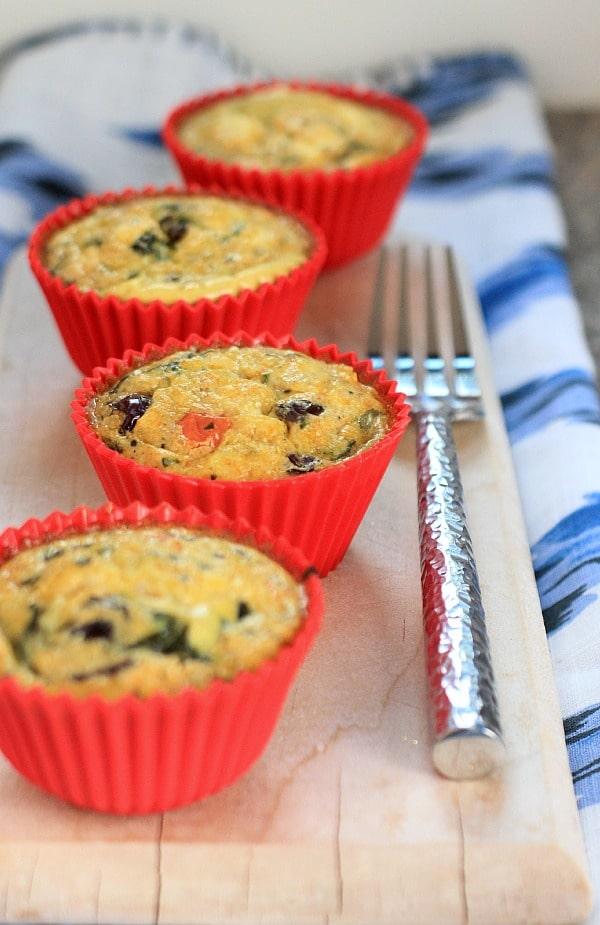 Mediterranean Egg Muffin Cup