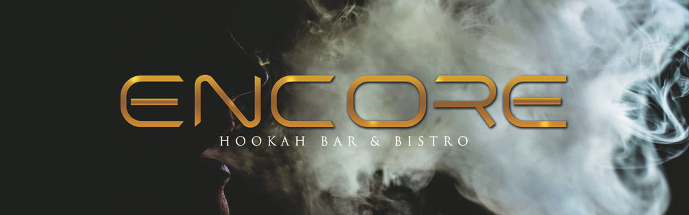 Image result for encore hookah bar and bistro logo