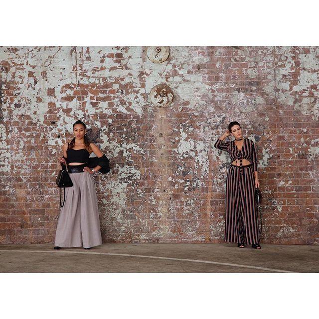 Gal-Pal 💥 @samashleighk 👯♀️ #MBFWA • • • • • • #MBFW #FashionWeek #Runway #AustralianFashion #Fashion #FashionDesign #Sydney #Blogger #Melbourne #FashionBlogger #Hair #MakeUp #MBStyle #InstaStyle #Style #MelbourneFashion #WinterFashion #LoveFashion