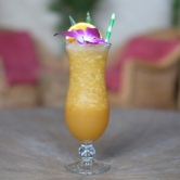 Lapu Lapu — $11 - Dark rum with orange/lemon juice and a touch of passion fruit vanilla flavorVirgin - $9