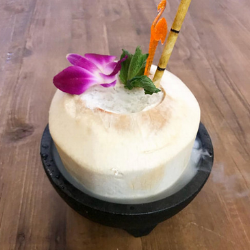 coco loco — $15  - A blend of rums swirled together with plenty of coconut