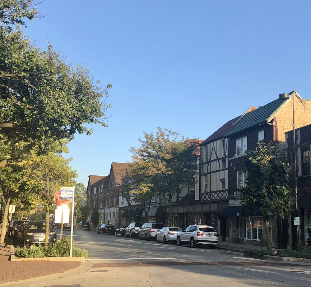 Elm Street Looking East 2018