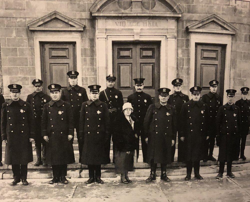 1917 - Gertude Thurston joins the Winnekta Police Department as a Juvenile Officer -