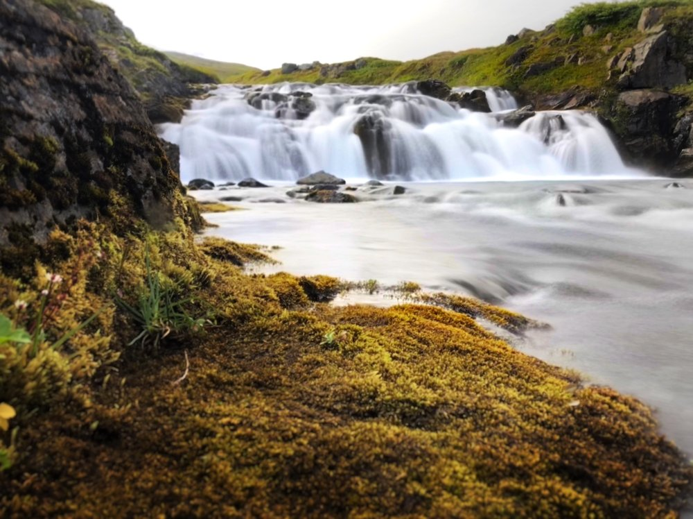 Waterfall —Hesteyri, Iceland