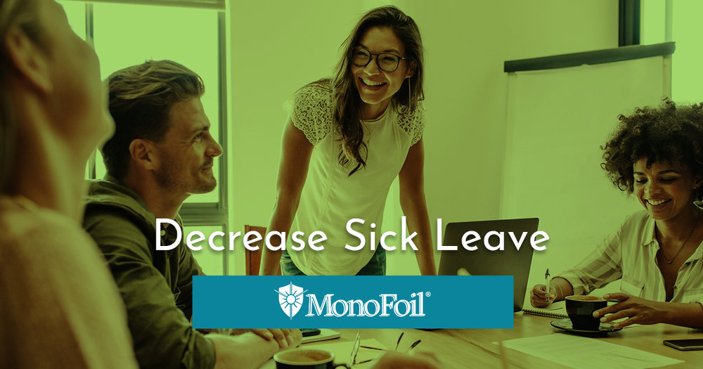 how to decrease sick leave in an office environment