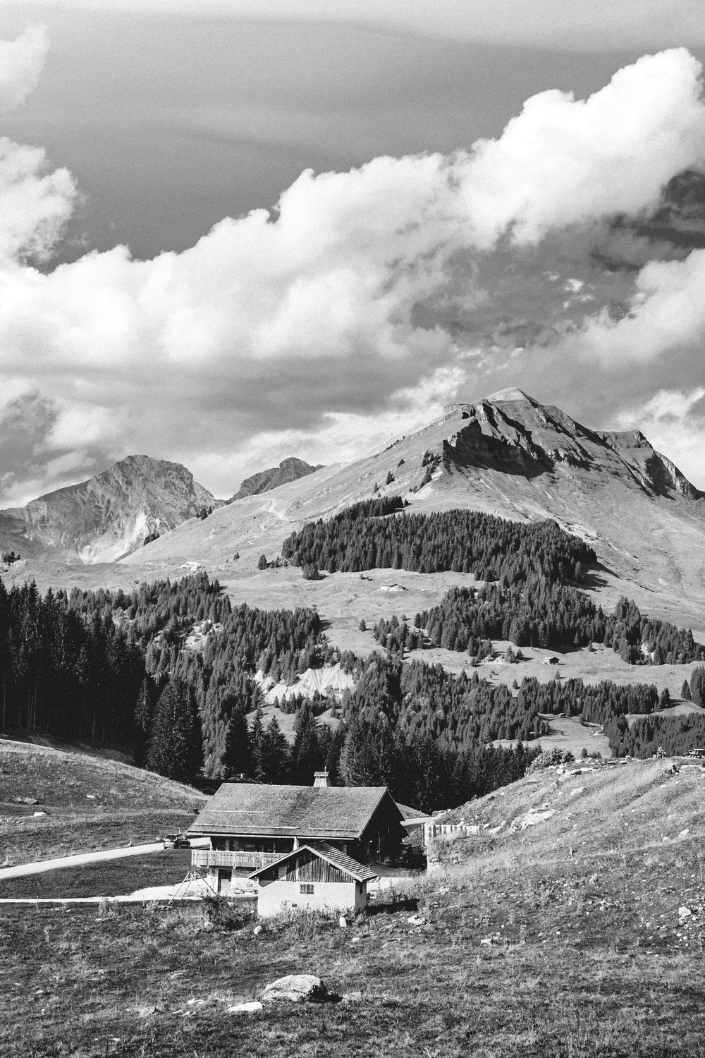6 | Alpine Legacy - Most of our cabins in the French Alps started has farms. Mountaineers and shepherds built those higher in the mountains to welcome livestock during the shifts winter/summer. Another shot that represents home. Haute Savoie, France. September 2018.