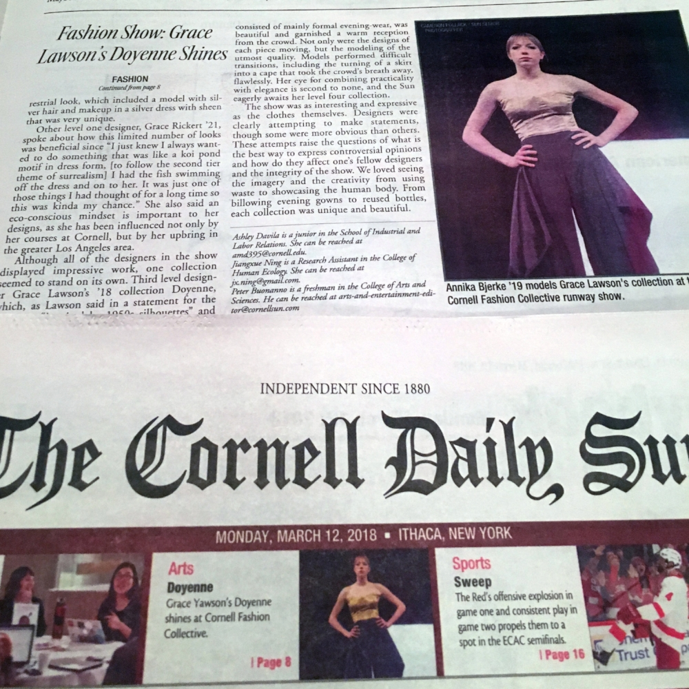 Cameron Pollack/Cornell Daily Sun Senior Photographer