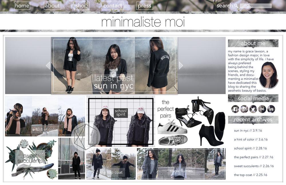 Minimaliste Moi – 2016