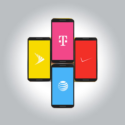 All Carriers Integrated - - T-Mobile- Verizon Wireless- AT&T- Sprint