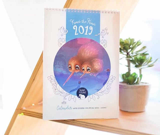 Gorgeous shot of our 2019 calendar at @themirrorbox ❤️ Very limited stock ❤️