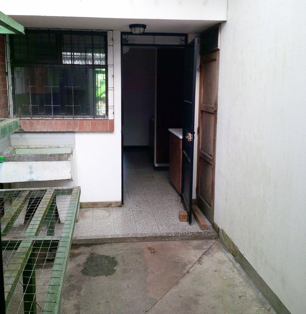 Empty indoor atrium July 2014