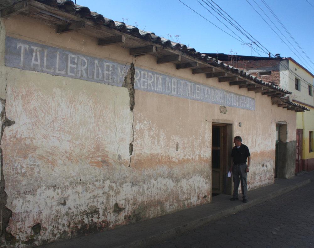 Morería  Alejandro Tistoj e Hijos, San Cristóbal Totonicapán, Totonicapán Department 2011.