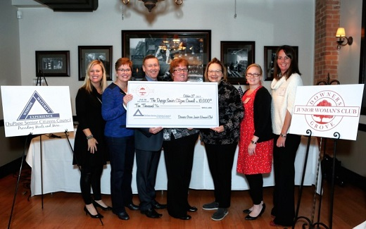 Financial Contributions - The Downers Grove Junior Woman's Club has been, and continues to be, a committed source of hope in the form of emotional and financial support throughout Downers Grove and the surrounding areas for over 50 years.