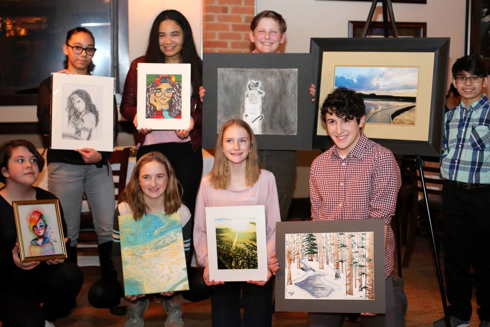 2018 Downers Grove Junior Woman's Club Junior High Art Contest Winners