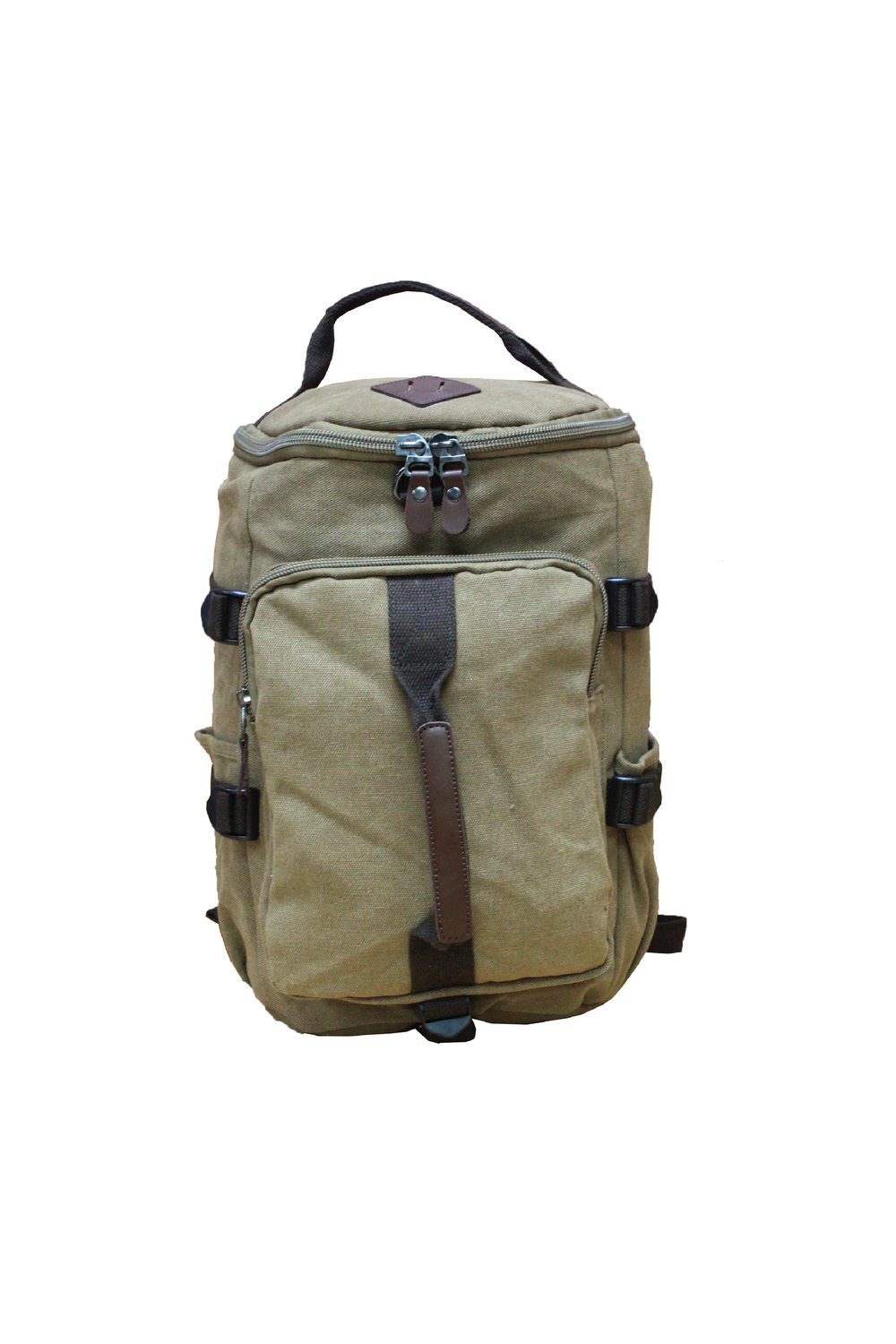 67aa8ce5e Canvas Two Ways Bag (Duffle/Backpack) - TCT1928 — T Poly Ventures