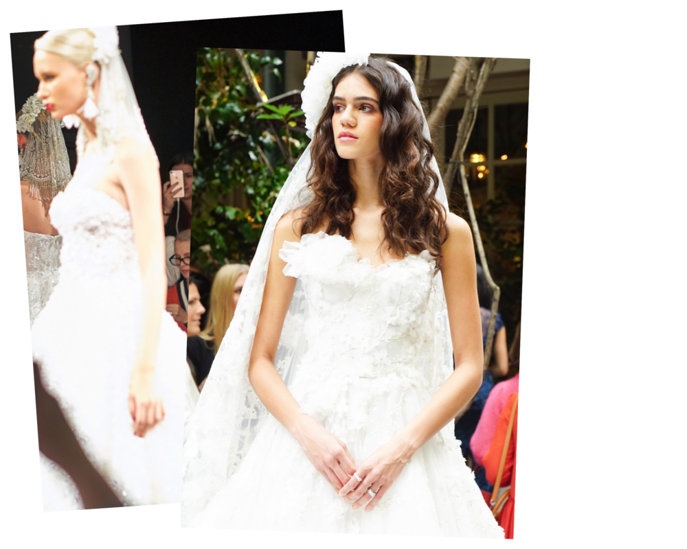 Must See from Bridal MArket 2018 - Enjoy the best from my trip to NYC for Bridal Market… Including recaps from the Reem Acra X Preston Bailey show, Ines Di Santo, Marchesa and more.
