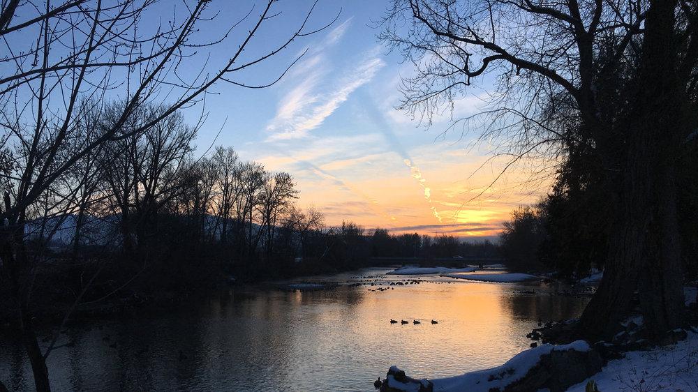 Boise River. Dec. 5, 2018.