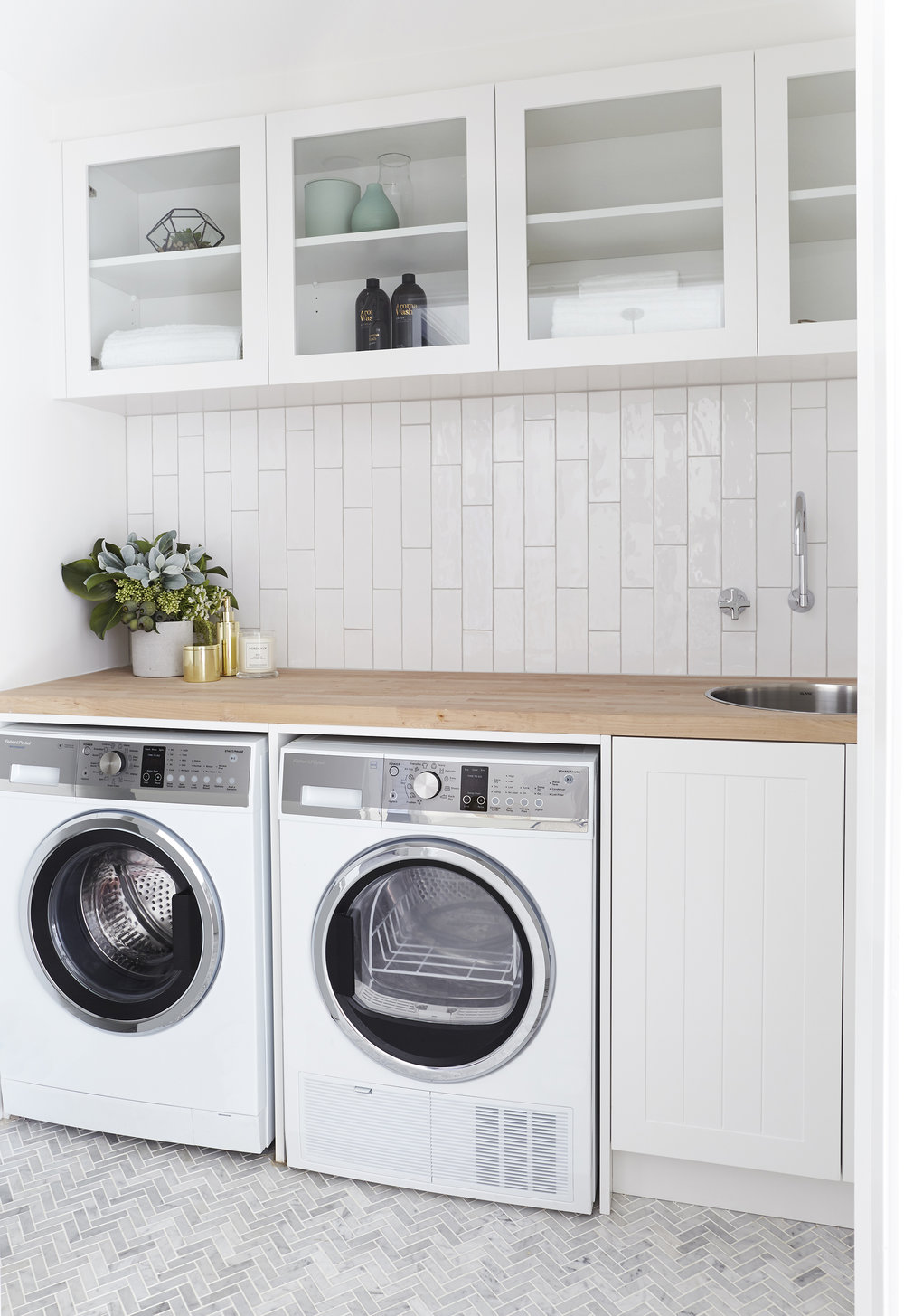 Washing Machine |   F   isher & Paykel  Wash Smart  Dryer |   Fisher & Paykel  Condensing Dryer  Cabinets |   Carrera By Design   Taps |   Caroma