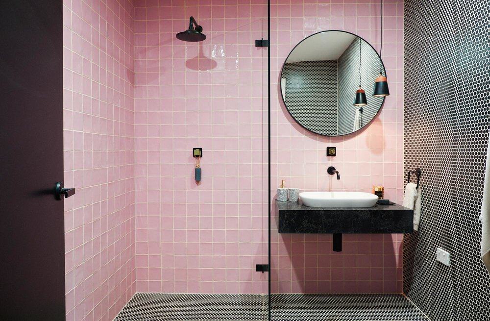 Pink Bathroom, Tile Inspo