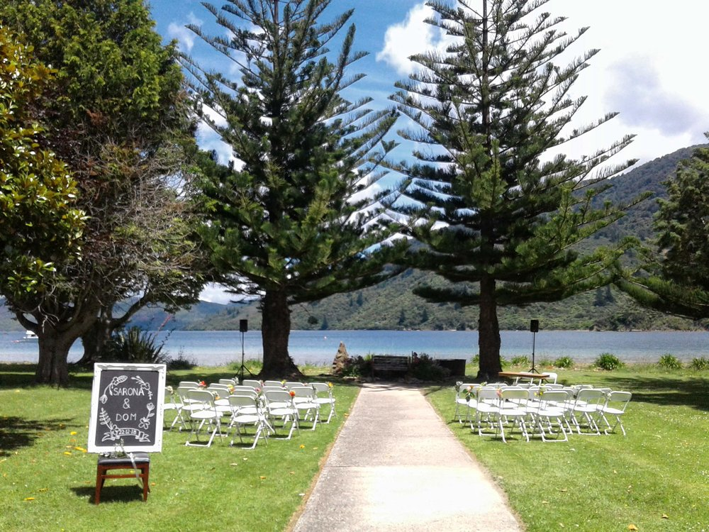 Romance blossomed in this idyllic setting!!