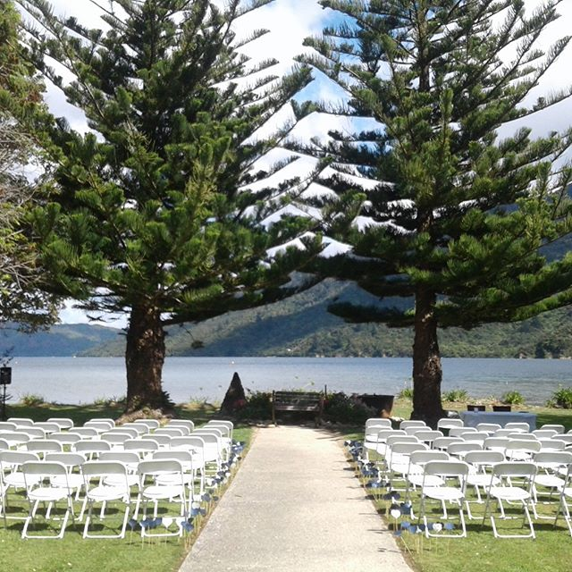 Every day is a good day to get married at Furneaux Lodge ❤  #wedding #love #marlboroughcelebrant #marlboroughnz #happy #family