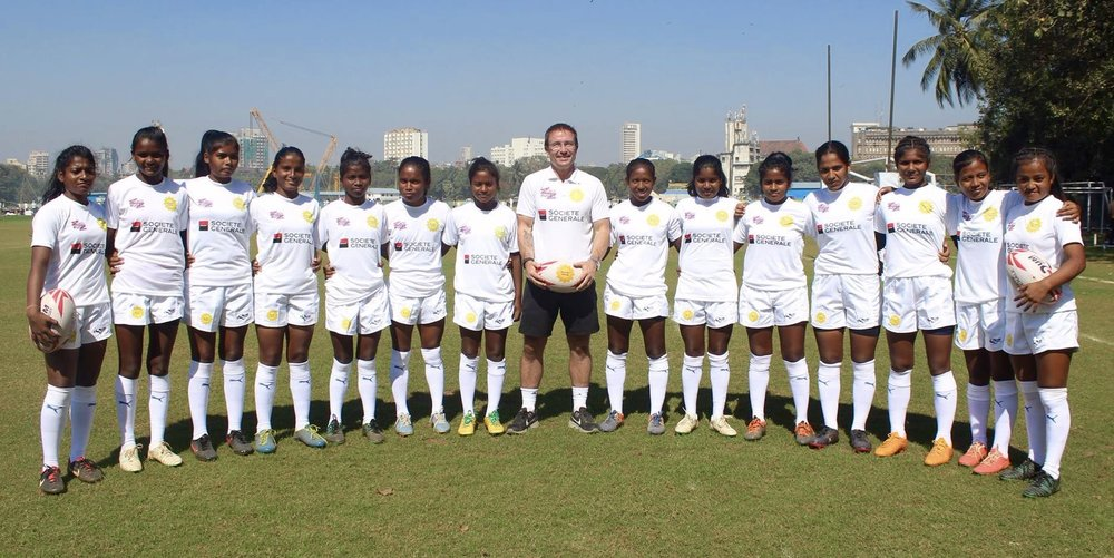 Nov 2017: India's Under 17s ready for Olympic Qualifier to be played in Dubai, under the guidance of USA 7s Coaching Star Mike Friday. Three Crows in the squad, including Captain Sandhiya.