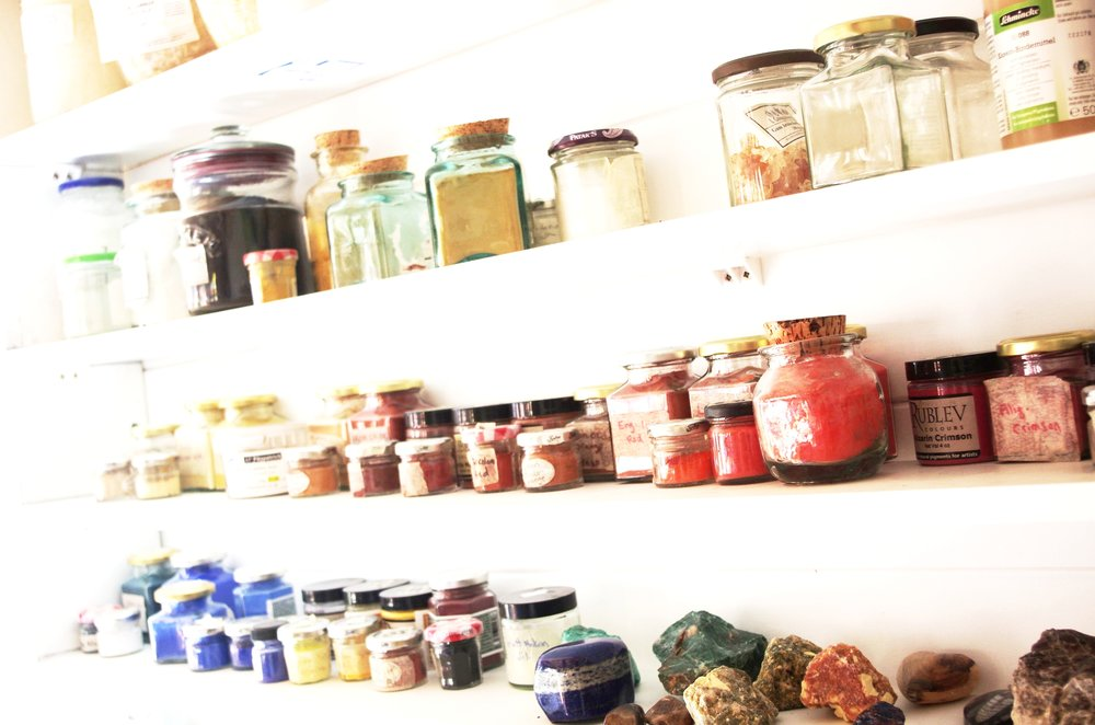 A Studio Visit? - I'd love to show you around my studio and show you my collection.