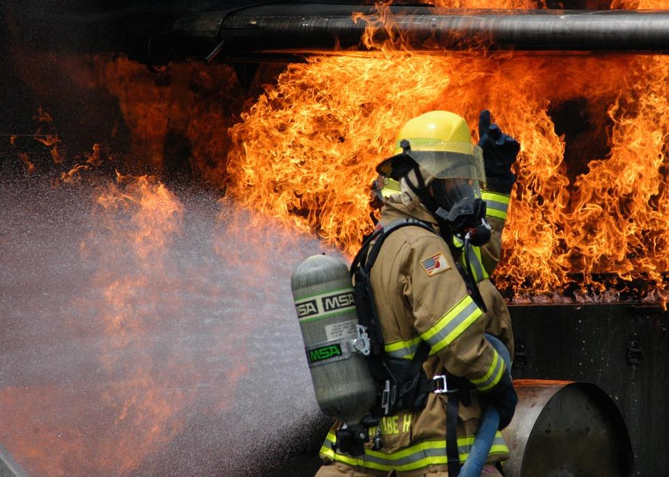 brannslukking