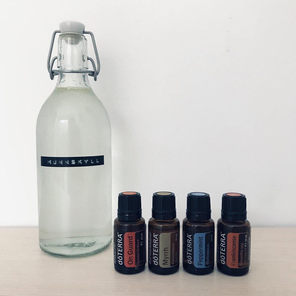 diy-naturlig-munnskyll-eteriske-oljer