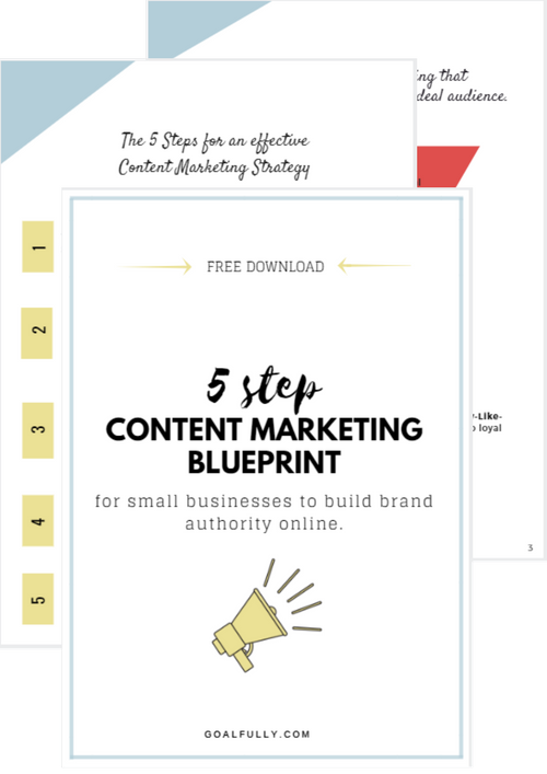 Content marketing blueprint digital marketing for small businesses malvernweather Gallery