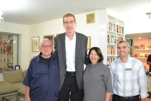 Marom Forum hosted REUTH   Reuth Medical & Rehabilitation Center Marom Forum hosting Mr. Yaron London an Israeli Journalist & Mr. Uzi Landau, Chariman of Reuth