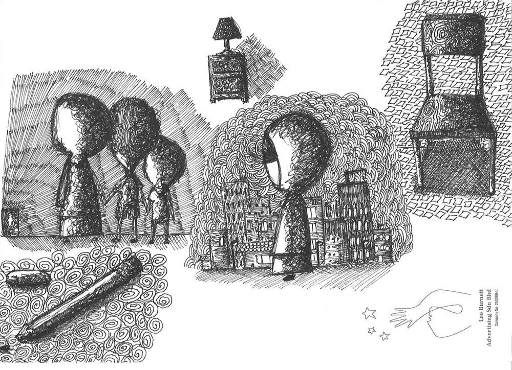 Jamilah sketches, The tone